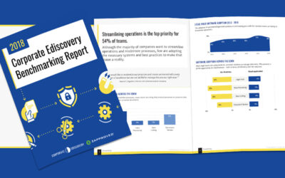 2018 Corporate Ediscovery Benchmarking Survey Reveals Gap Between In-House Legal Priorities and Practices