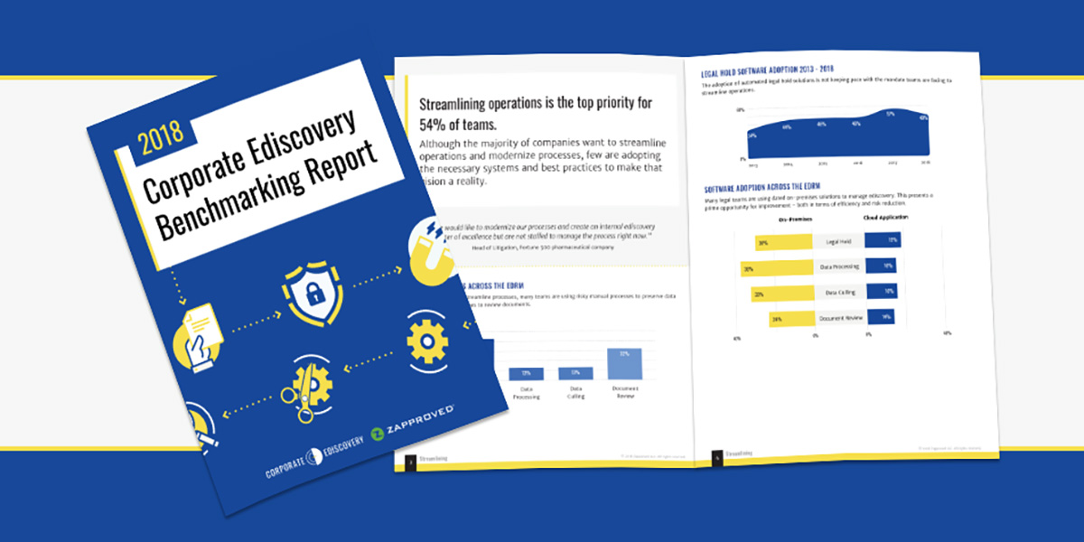 Ediscovery Benchmark Survey Report graphic