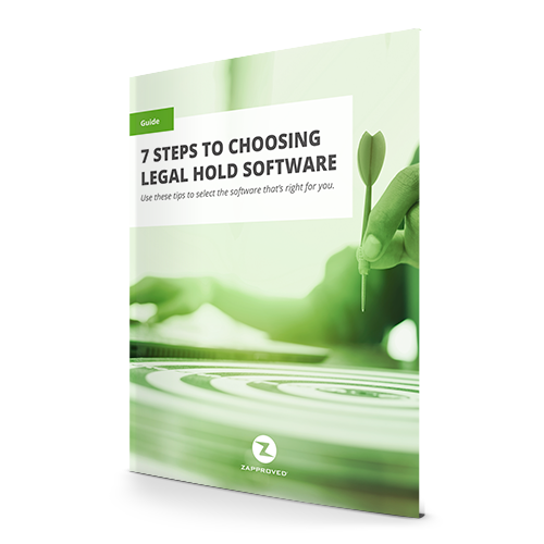 7 Best Practices for Selecting Legal Hold Software