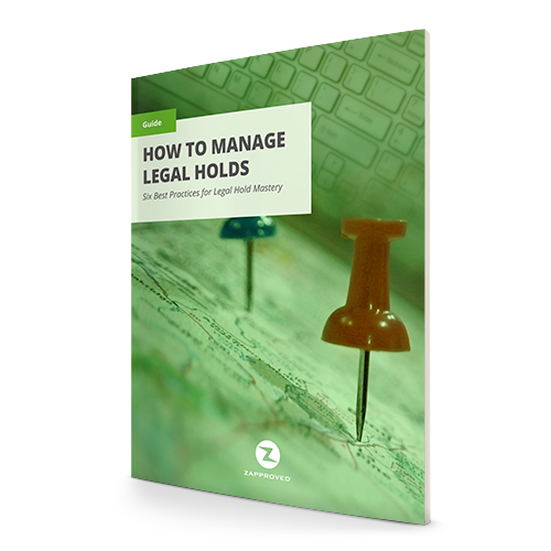 How to Manage Legal Holds