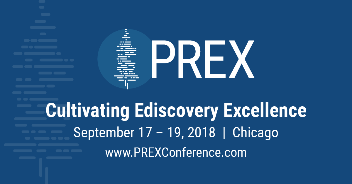 Join us for PREX 2019 in Chicago