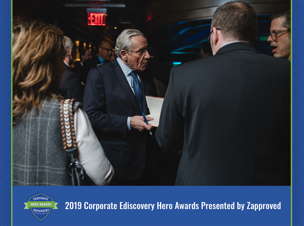 2019 Corporate Ediscovery Hero Awards by Zapproved