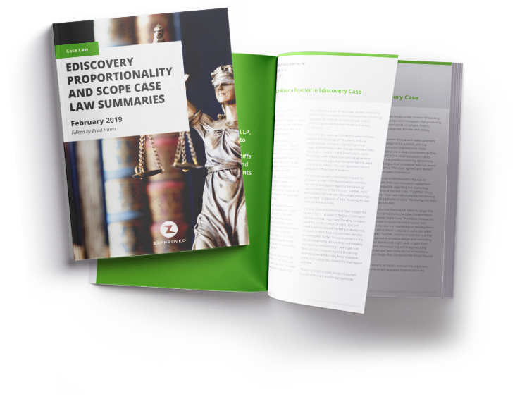 Case law digest about proportionality