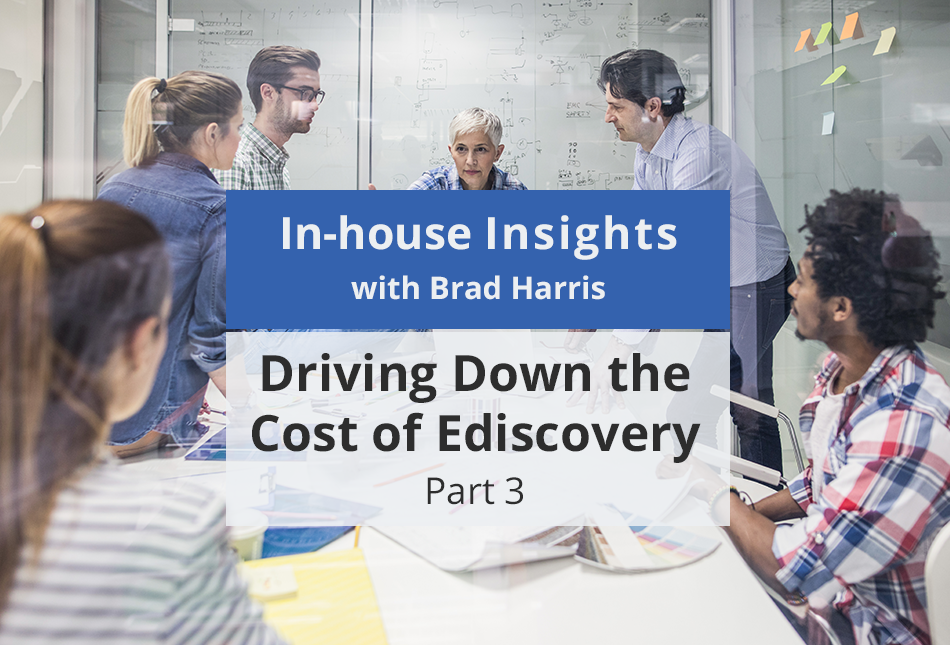 Business meeting planning ahead for ediscovery and early case assessment