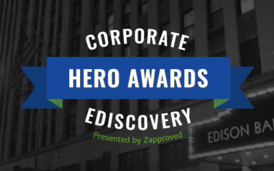 Corporate Ediscovery Hero Awards Finalists for 2020