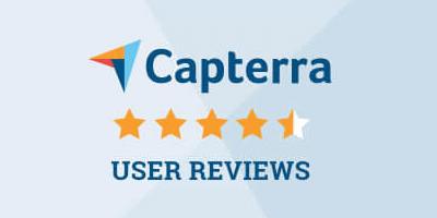 Check reviews widget - Capterra