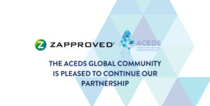 ACEDS partnership with Zapproved