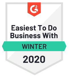 G2 Crowd High Performer Winter 2020 Ediscovery Software