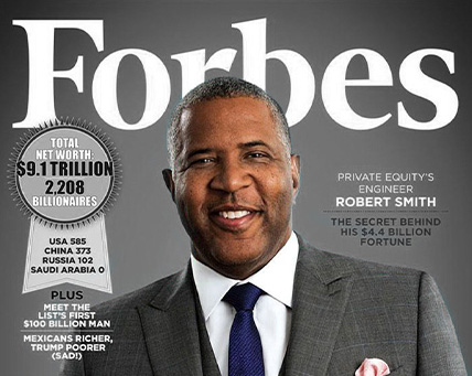 Robert F. Smith, Founder, Chairman & CEO, Vista Equity Partners