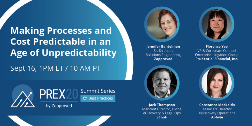 Making Processes and Cost Predictable in an Age of Unpredictability