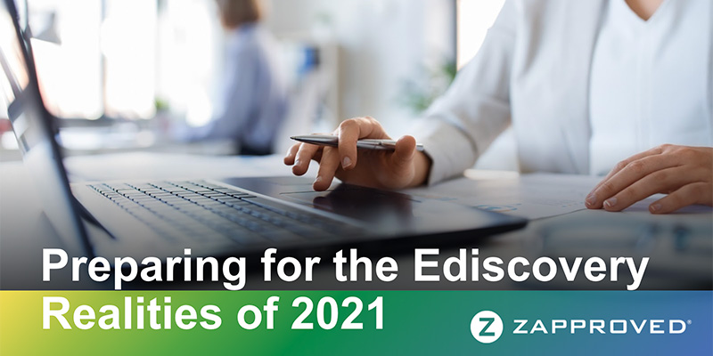 Expert Panel - Corporate Ediscovery Realities of 2021