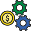 Processing Savings Icon