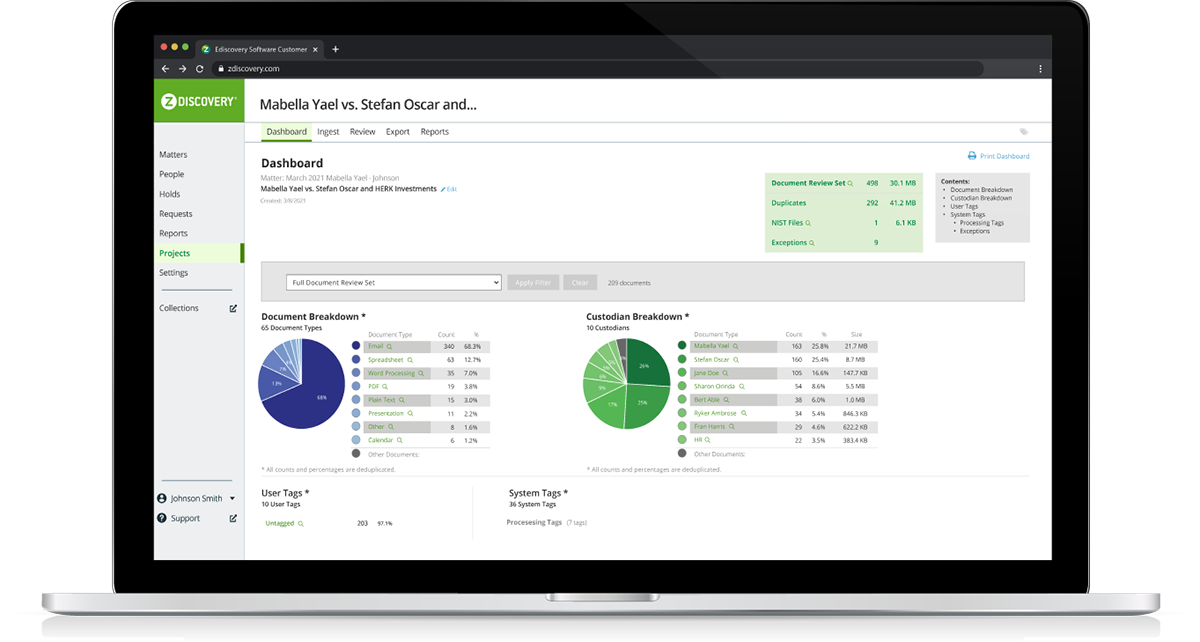 Improve data security and reduce outside ediscovery spend by 60% or more Pro Screenshot