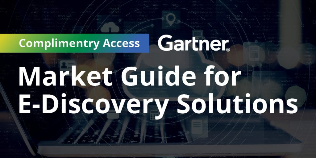 Zapproved - Market Guide for E-Discovery Solutions