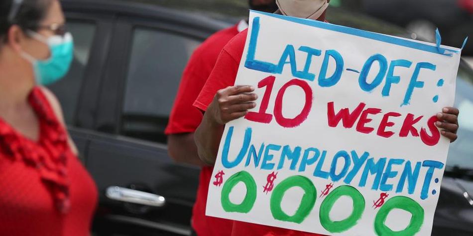 Unemployment Sign